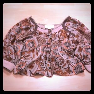 Silk blouse so pretty!